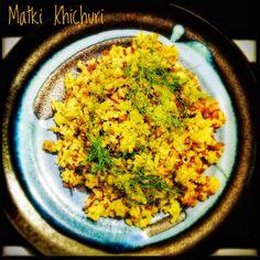 Moth Bean Kitchari | Matki Khichuri