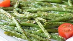 Simply roast fresh green beans with olive oil, salt, and black pepper until browned to bring out their nutty flavor.