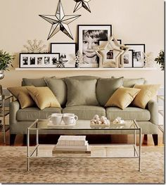 Ideas For That Wall Behind The Sofa Kelly Bernier Designs Ikea Photo Ledge