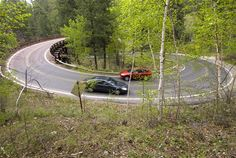 Iron Mountain Road in the Black Hills of South Dakota is known for the tight pigtail curves and the beautiful scenic drive.