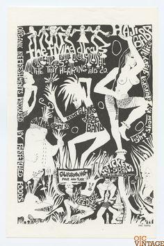 Weed Haji Baba Flying Circus Tiny Hearing Air Co 1967 Apr 30 California Hall