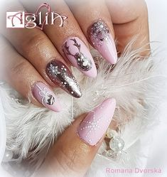 Winter Nails, Nail Art, Beauty, Nail Arts, Beauty Illustration, Nail Art Designs