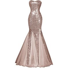Womens Glamour Sweetheart Sequin Mermaid Long Mermaid Prom Dress (1.007.965 IDR) ❤ liked on Polyvore featuring dresses, long dress, gowns, long length dresses, sweetheart prom dresses, sweetheart neckline prom dress, sweetheart long dress and sequined dress