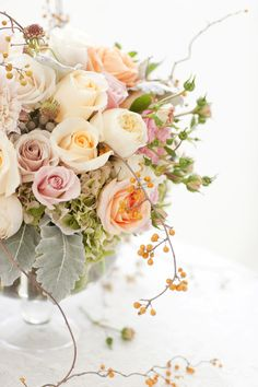 Wedding Flowers: Blooms and Co., Branches Event Floral, Julie Prince Flowers, and Roots