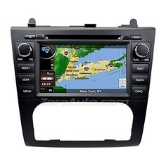 "Astrium® G6411SJ 2007-2012 Nissan Altima In-Dash GPS Navigation DVD Stereo Bluetooth 7"" Touch Screen AV Receiver Audio Video Player FM AM Radio iPod iPhone-Ready Deck w/ Copyrighted NNG NAVTEQ Maps"