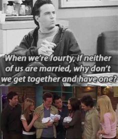 Love Chandler & Monica