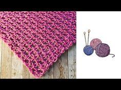 Όμορφο και εύκολο σάλι - Solomon knot scarf - YouTube Beach Mat, Outdoor Blanket, Youtube, Youtubers, Youtube Movies