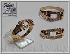 Złoty pierścionek - PASEK - Złoto 585 Tychy