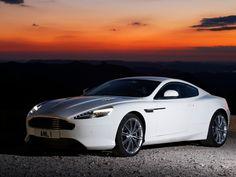 Aston Martin Virage Coupe White