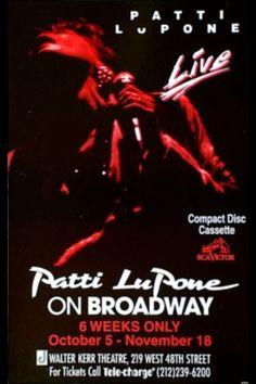 Patti Lupone on Broadway