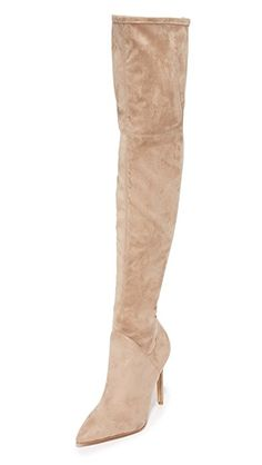 KENDALL + KYLIE Women's Winter Thigh High Over The Knee Boot