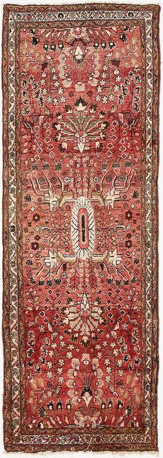 Red 3' 4 x 9' 3 Liliyan Persian Runner Rug | Persian Rugs | eSaleRugs