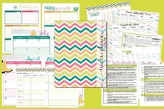 2015-2016 EDITABLE TEACHER PLANNER - CHEVRON - TeachersPayTeachers.com
