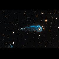 Image - Hubble Sees a Cosmic Caterpillar Nasa Planets, Astronomy, The Heavens Are Telling, Hubble Photos, Time Continuum, Solar Activity, Dark Energy, Secrets Of The Universe, Star Children