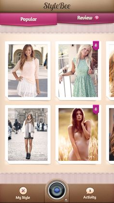 StyleBee #WebsiteInterface #webDesign #website #design #creative  #ui/ux #Ui #ux