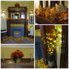 Decorating for fall, with a new addition from Walmart!