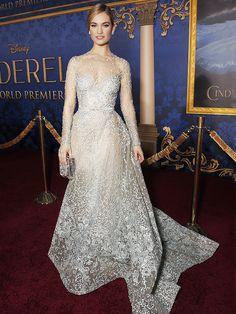 Ellie Saab Cinderella dress