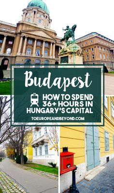 A list of the must-see attractions in beautiful and contrasting Budapest, the capital city of Hungary http://toeuropeandbeyond.com/things-to-do-in-budapest/ #travel #Europe