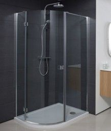 Simpsons Design Offset Quadrant Single Door Shower Enclosure 1200 x Simpsons Single Hinged Door Offset Quadrant Enclosure Simpsons Shower Taps, Frameless Shower, Shower Doors, Quadrant Shower Enclosures, Walk In Shower Enclosures, Glass Hinges, Power Shower, Victorian Bathroom, Shower Cubicles
