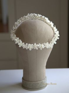 Orange blossoms wreath. Bridal headpiece. Blossoms crown.