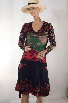 Robe colorée DESIGUAL  taille L ref 0616228 #fripie