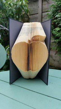 Teachers Apple Book Folding Pattern 143f Plus by Cornerhouse115