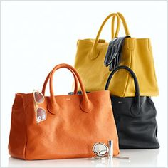 Elizabetta Leather tote--beautifully constructed bags.