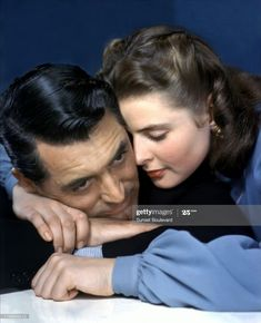 Ingrid Bergman, Cary Grant, Alfred Hitchcock, Golden Age Of Hollywood, Old Hollywood, Stock Pictures, Stock Photos, Film Le, Adore U