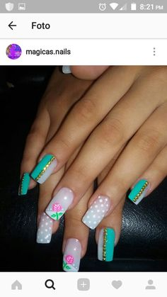 Color For Nails, Purple Nails, Love Nails, Prom Nails, 3d Nails, Spring Nail Art, Spring Nails, Pretty Nail Designs, Nail Art Designs