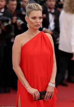 Taking her mind off things: Kate's arrival in Cannes comes after she has allegedly thrown out her toyboy lover Count Nikolai von Bismarck