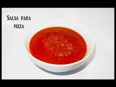 Receta de Salsa para pizza  y espaguetis - Pizza sauce recipe. - YouTube Sauce Recipes, Diet Recipes, Cooking Recipes, Food Videos, Menu, Ethnic Recipes, Youtube, Sauces, Easy Food Recipes
