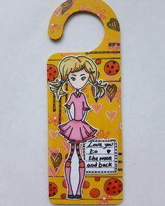 Mdf Doors, Door Hangers, Journaling, Bee, Stamp, Phone Cases, Crafty, Girls, Toddler Girls
