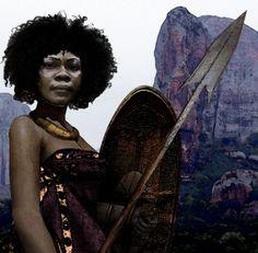 Queen Nzinga Mbande--17th c. Warrior queen
