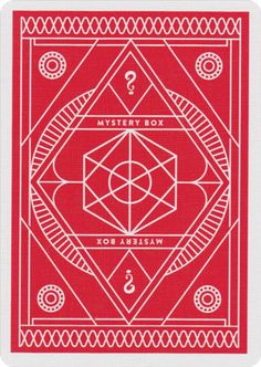 Each deck of Bad Robot Playing Cards is sealed with a kraft paper, letterpress wrap...