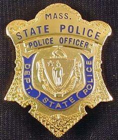 Massachusetts State Police Badge