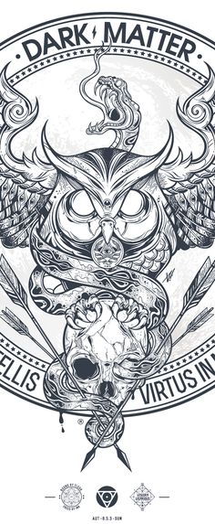 Tattoo inspiration... DUST & ECHO ( Fides in Stelis / Virtus in Numeris ) on Behance
