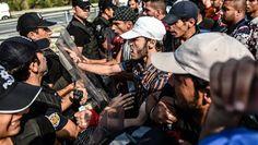 Мигранты устроили беспорядки в центре содержания в Мадриде
