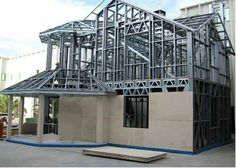 Metal Building Homes, Building Materials, Building A House, Pole Barn House Plans, Pole Barn Homes, Steel Frame House, Steel House, Steel Framing, Tyni House