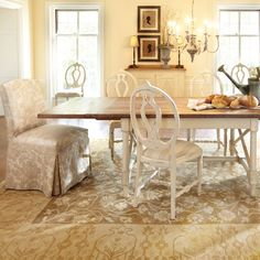 Cecilia Dining Table, Chairs, and Buffet - Arhaus Furniture