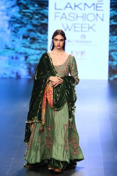 Vrisa at Lakmé Fashion Week winter/festive 2016 Pakistani Dresses, Indian Dresses, Indian Outfits, Anarkali, Lehenga Choli, Churidar, Sarees, Indian Attire, Indian Ethnic Wear