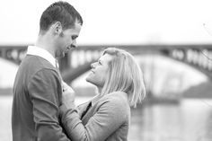 Engagement session at the John Wright Restaurant.
