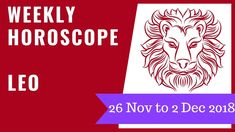 leo weekly horoscope december 1