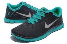 Nike Free 4.0 V2 Homme 017 [NIKEFREE 042] - €61.99 Nike Free, Nike Air Max, Jordan, Sneakers Nike, Logo, Fashion, Comfortable Shoes, Black Shoes, Green