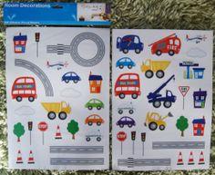 Baby Children Kid Boy Bedroom Car Bus Truck Transport Wall Sticker Decal Bedroom   eBay