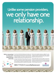 Scottish Life. Award-winning trade advertisement, promoting Scottish Life's focus on the IFA market.