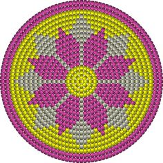 Billedresultat for crochet pattern wayuu bag Diy Crochet Patterns, Tapestry Crochet Patterns, Crochet Motifs, Crochet Chart, Filet Crochet, Crochet Projects, Beading Patterns, Stitch Patterns, Chat Crochet