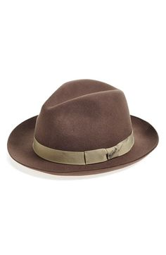 Woolrich Water Repellent Wool Felt Fedora available at #Nordstrom