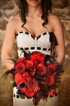#ramo de #novia para #bodas en #halloween