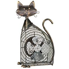 Vintage Mesh Pet Fan, Cat