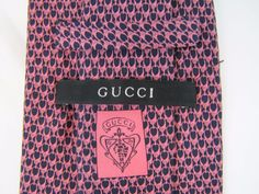 Modern GUCCI Tie - - 100% Silk - - Made in Italy #Gucci #Tie